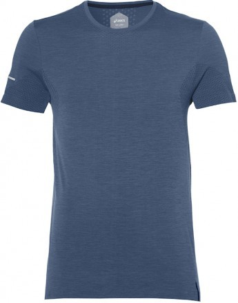 Asics Seamless Short Sleeve Dark Blue
