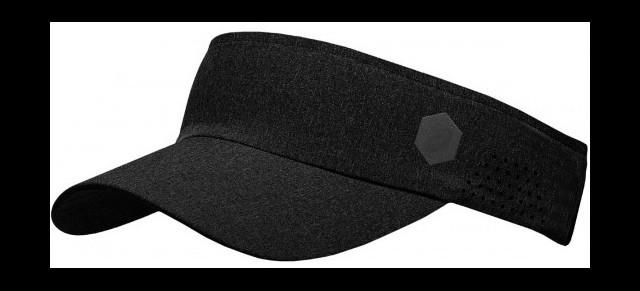 Asics Visor Performance Black - Czapki 8d57438642fc