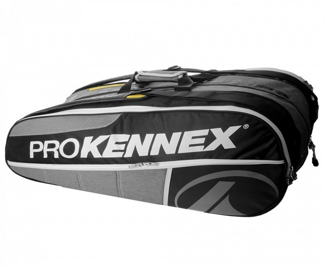 ProKennex Triple Thermobag Black Grey