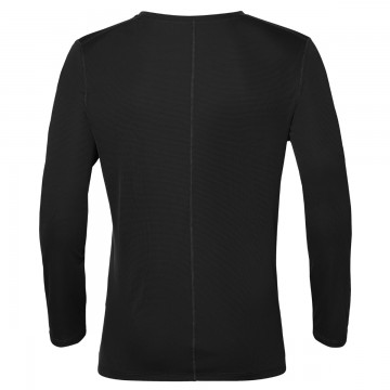 Asics Silver Long Sleeve Top Black