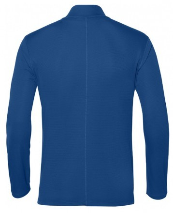 Asics Silver Long Sleeve 1/2 Zip Top Race Blue