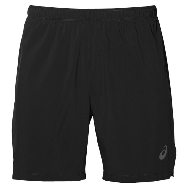 Asics Silver 7in Short Black