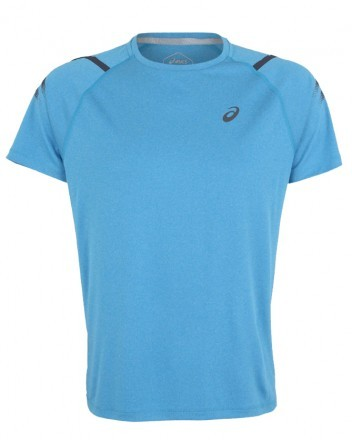 Asics Icon Short Sleeve Top Blue