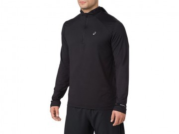 Asics Long Sleeve Hoodie Performance Black