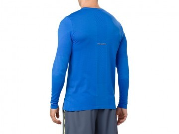 Asics Seamless Long Sleeve Illusion Blue