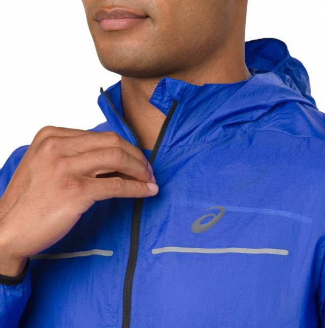Asics Lite-Show Jacket Illusion Blue