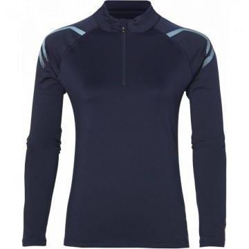 Asics Icon Winter Long Sleeve 1/2 Zip Top Navy