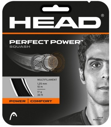 Head Perfect Power Squash Black