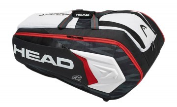 Head Djokovic 12R Monstercombi Black White