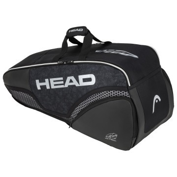Head Djokovic 6R Combi Black / White