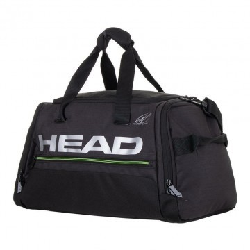 Head Duffle Bag Grey Black