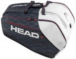 Head Djokovic 12R Monstercombi Black/White torba do squasha