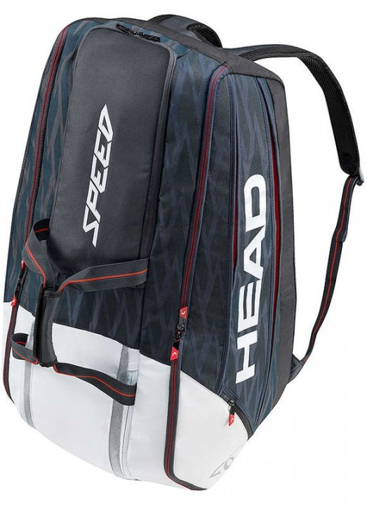Head Djokovic 12R Monstercombi Black/White