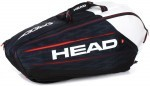 Head Djokovic 9R Monstercombi Black/White torba do squasha