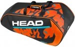 Head Radical 9R Supercombi Black/Orange torba do squasha