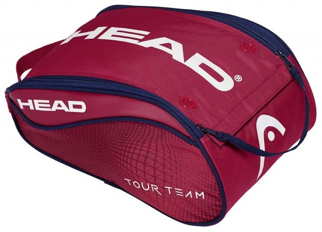 Head Tour Team Shoe Bag Red Navy
