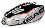 HeadTour Team 12R Monstercombi Silver/ Black torba do squasha