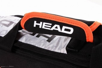 Head Tour Team 3R Pro Bag Silver torba do squasha