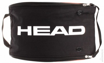 Head Tour Team Shoebag Silver Black
