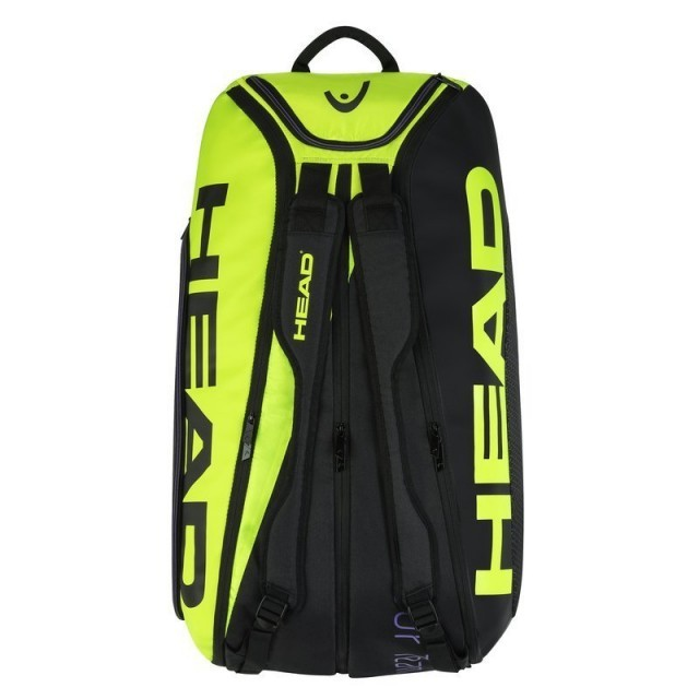 Head Tour Team Extreme Monstercombi 12R Black / Neon Yellow