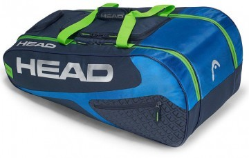 Head Elite All Court 8R  Blue / Green