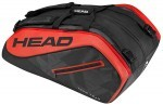 Head Tour Team 12R Monstercombi Black/Red torba do squasha