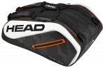 Head Tour Team 12R Monstercombi Black/White torba do squasha
