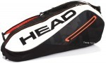 Head Tour Team 6R Combi Black/White torba do squasha