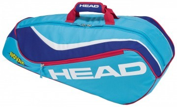 Head Junior Combi Novak 3R Lightblue / Blue