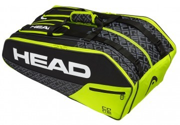 Head Core 9R Super Combi Black / Neon Yellow