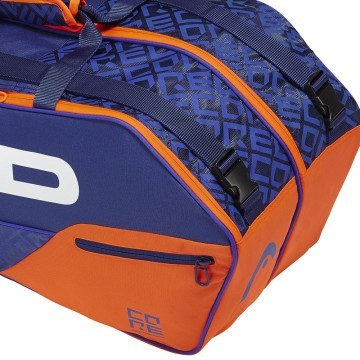 Head Core 6R Combi Blue Orange