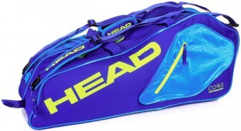 Head Core 6R Combi Blue/Yellow