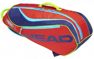 Head Junior Combi Novak Red Navy