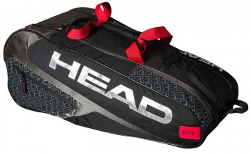 Head Elite Allcourt Black Red