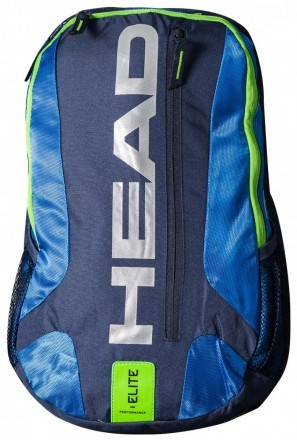 Head Elite Backpack Blue Green