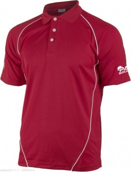 Harrow Rigor Polo Red/White SquashTime.pl