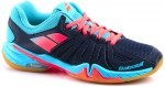 Babolat Shadow Spirit Blue squash shoes for women