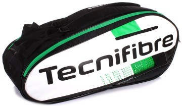 Tecnifibre Squash  9R White / Green / Black