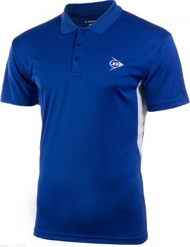 Dunlop Club Button Polo Blue