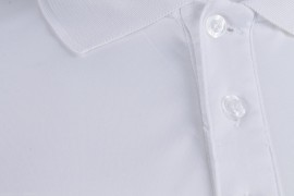 Dunlop Club Button Polo White