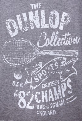 Dunlop Casual CHAMP T-SHIRT Grey
