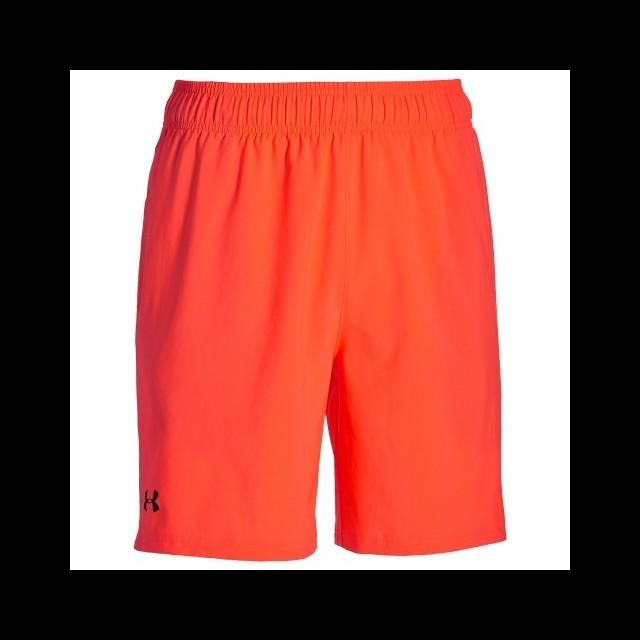bf0b4e788e729f Undder Armour Mirage Short 8 Orange - Ubrania męskie do squasha ...
