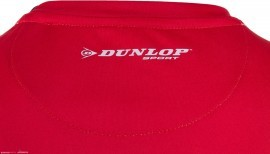 Dunlop Performance Crew Tee Red