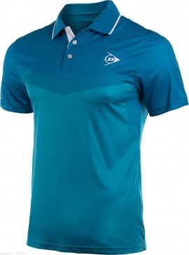 Dunlop Performance Button Polo Blue