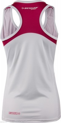 Dunlop Performance Tank Cherry/White
