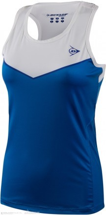 Dunlop Performance Tank White/Blue