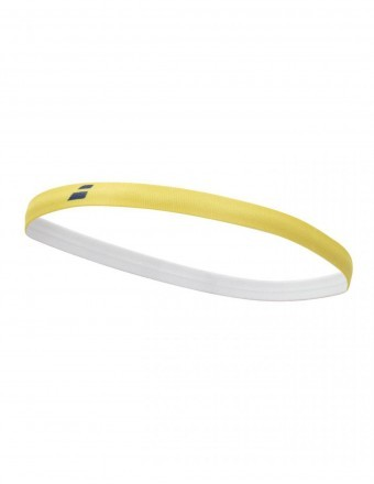 Babolat Elastic Woman Headband Yellow / Navy x3