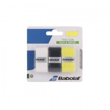 Babolat Traction White / Black / Yellow x3