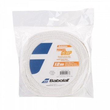 Babolat Towel Grip White - Reel 12m