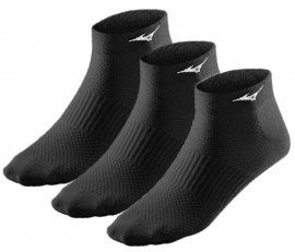 Mizuno Training Mid 3Pack Black